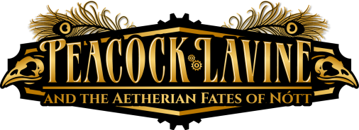 Books in the Series – PEACOCK LAVINE and the Aetherian Fates